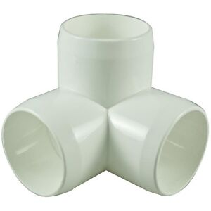 3 Way 40mm PVC Pipe, Cage Fittings, & Connectors for Furniture & Projects