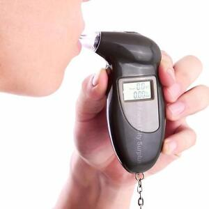 HERE IS AN EASY WAY TO STOP YOUR FRIENDS OR YOURSELF FROM DRIVING DRUNK - A POCKET SIZE DIGITAL BREATHALYZER !!