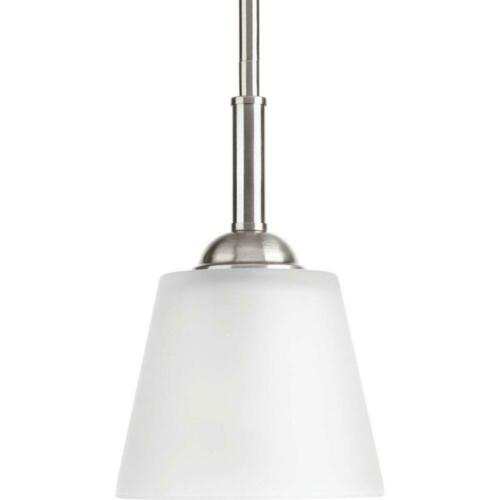 Progress Lighting Arden Collection 1-Light Brushed Nickel Mini Pendant