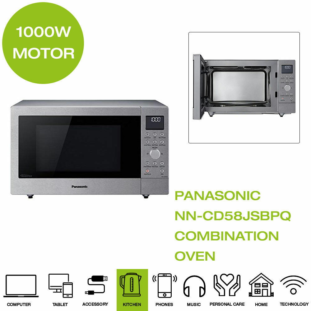 *Brand New* Panasonic NN-CD58JSBPQ 3-in-1 Combination Microw