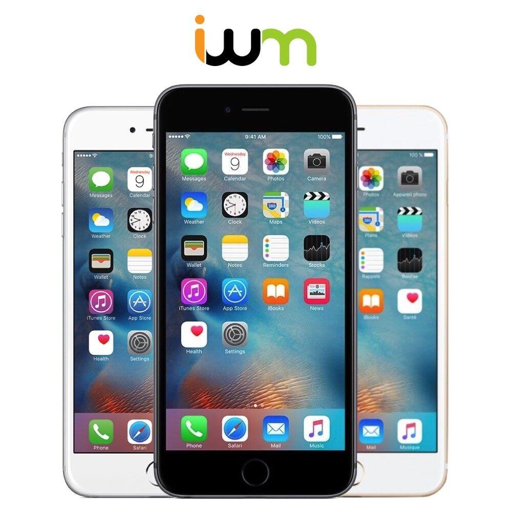 Apple iPhone 6 Plus 16GB 64GB 128GB Unlocked / AT&T / Verizon / T-Mobile/ Sprint