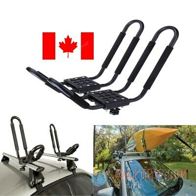 Universal Car SUV VAN Top J-Bar Mount Canoe Kayak  Rack Carrier Roof Rack