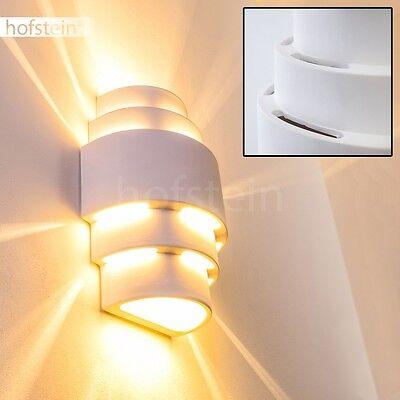 Applique murale blanche lampe de corridor spot moderne for Ceramique murale blanche
