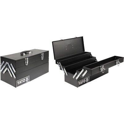 YATO Profi Werkzeugkoffer Metall Werkzeugkiste Kasten S… | 05906083908859
