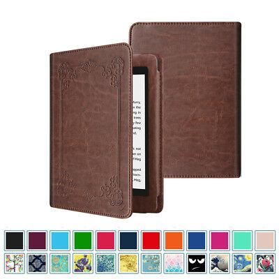 For Amazon Kindle Paperwhite E-reader Case Book Style Folio Cover Sleep/Wake