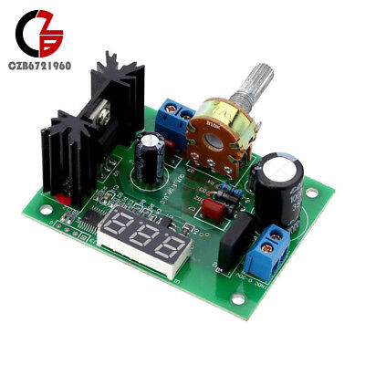 Lm317 Adjustable Voltage Regulator Step Down Power Supply Module Led Voltmeter