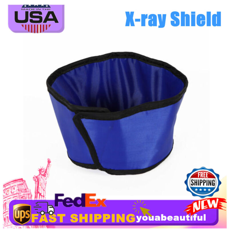 X-ray Shield Lead Rubber Inspection Radiation Protection Lab Hat  0.5mmpb Blue