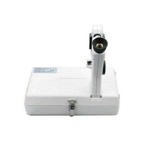 Portable Ophthalmic Lensmeter Lensometer Focimeter Vertometer CP-1B, AC/DC Power