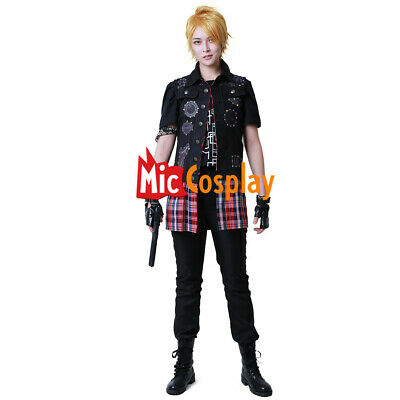 XV Prompto Argentum Cosplay Costume  Final Fantasy for Sale Shirt Jacket