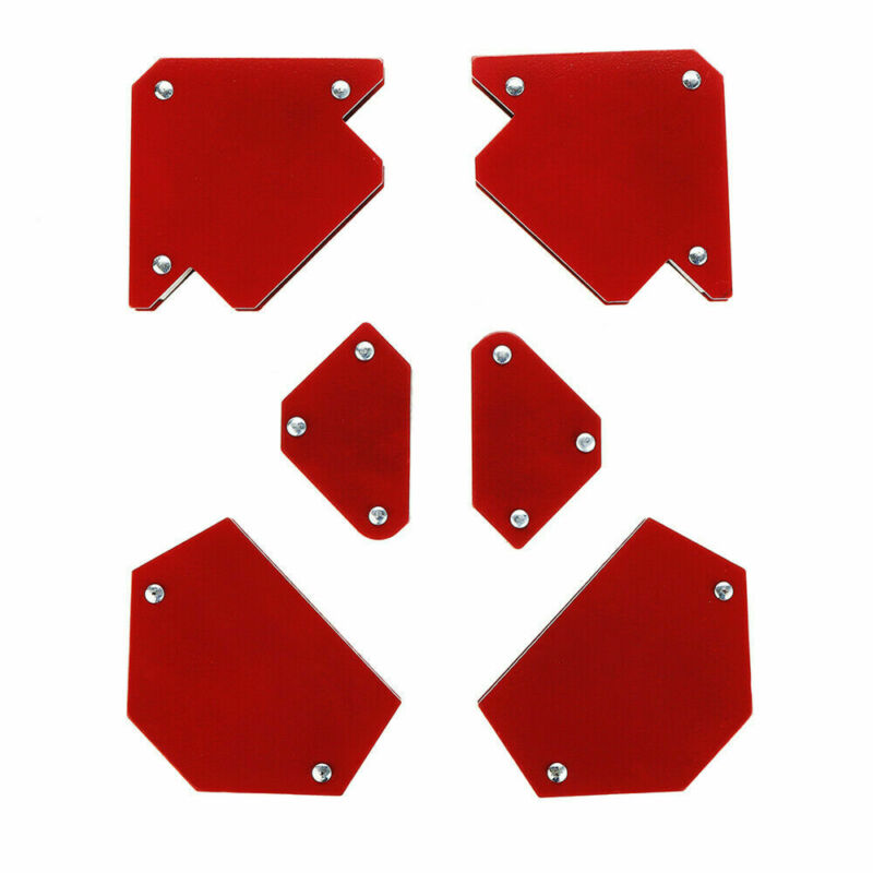Mini Triangle Welding Positioner Without Switch Magnetic Fixed Angle Tool 4 Pcs