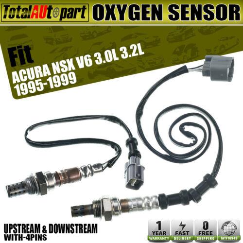 2Pcs Oxygen Sensors For Acura NSX 1995-1999 V6 3.0L 3.2L