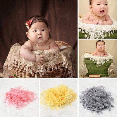 Newborn Baby Girl Boy Crochet Knit Costume Photo Wrap Blanket Rug Prop Outfits ()