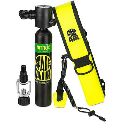 Spare Air Submersible Emergency Air Supply Package Set Scuba Diving Tank NITROX