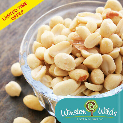 12.5kg Wild Bird Peanuts Splits. Finest Grade. Limited Time Offer.