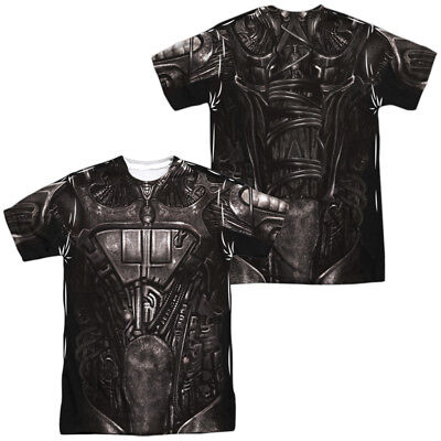 Authentic Star Trek TV Movie Borg Costume Sublimation Front Back Allover T-shirt