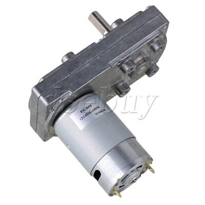 12v 120rpm No-load Speed High Torque Electric Square Gear Box Geared Motor