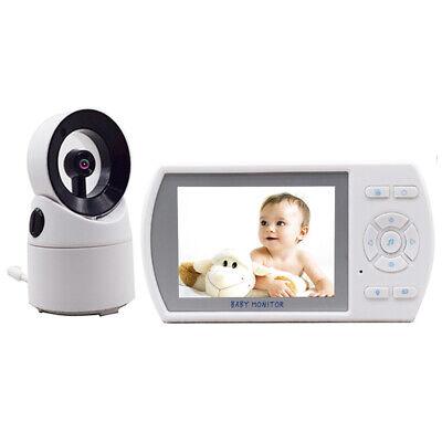 "3.5"" Digital Wireless Baby Monitor Video Audio Night Vision Camera 2 Way Talk Z"