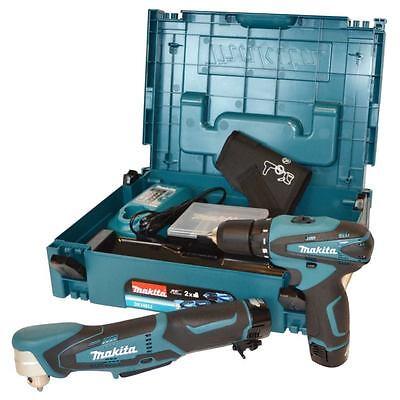 Makita DK1481J Akku-Combo-Kit DF330DWE & DA330DWE im Koffer mit 2x 10,8V Akkus