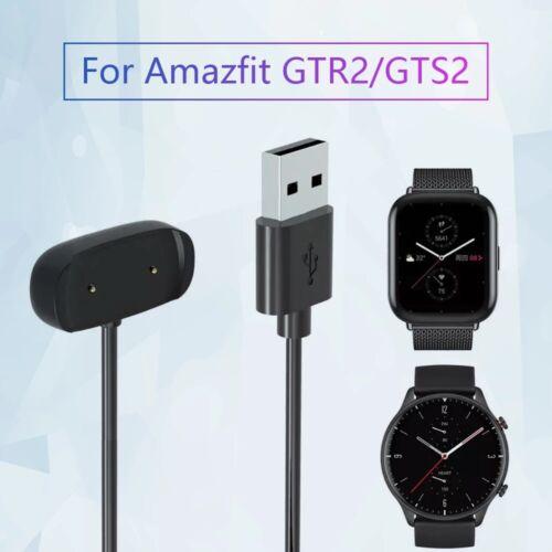 USB Charging Cable Cord for Amazfit GTR2/GTS2 /Bip U /GTR 2e/ Zepp E/Z Watch