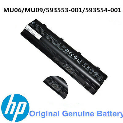 New Genuine Original for HP 2000-425NR Notebook laptop Battery MU06 593553-001