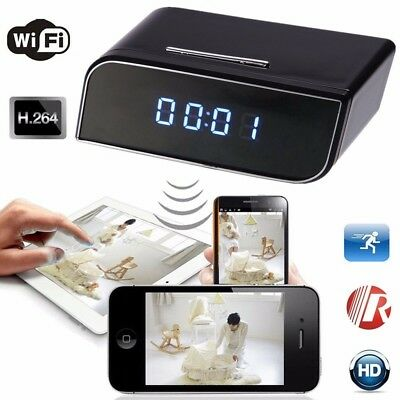 HD 720P Wireless Wifi IP Spy Hidden Camera IR
