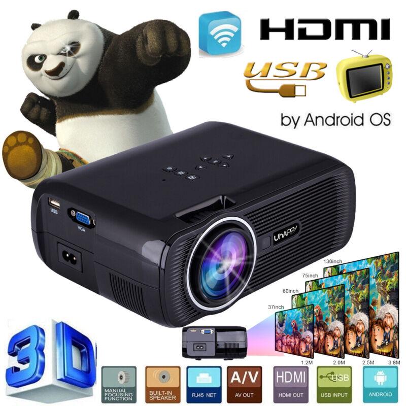 4000Lumens 1080P HD Projector Mini 3D LED Home Theater Cinem