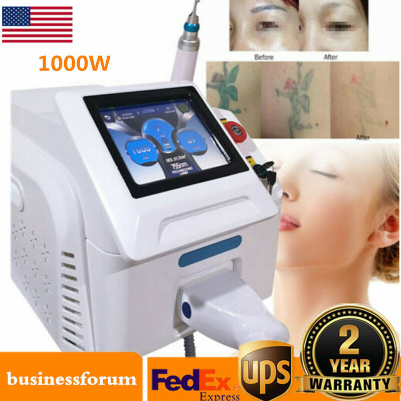 1000W Picosecond Tattoo Pigment Removal Machine Skin Care Rejuvenation Device US