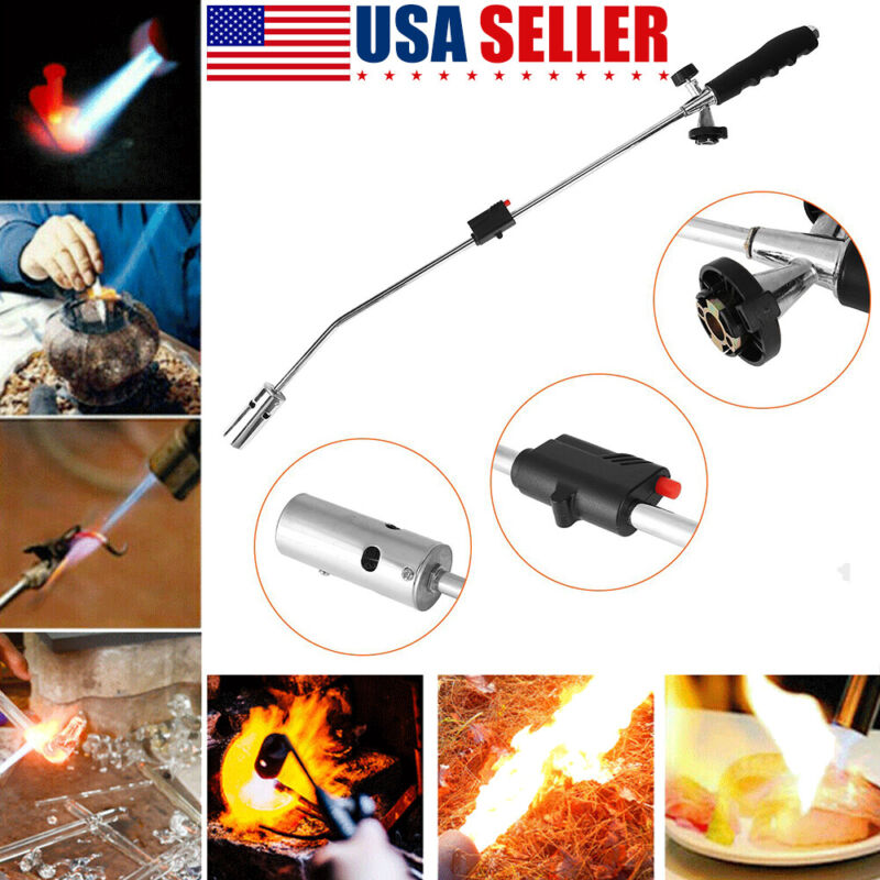 Propane Torch Igniter Roofing Weed Burner Ice Snow Melter / Flame Dragon Wand