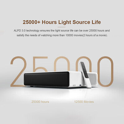 """3D Projector 4K 5G WIFI Smart Home Theater Movie Beamer 150"""" Full HD 1080P Video"""