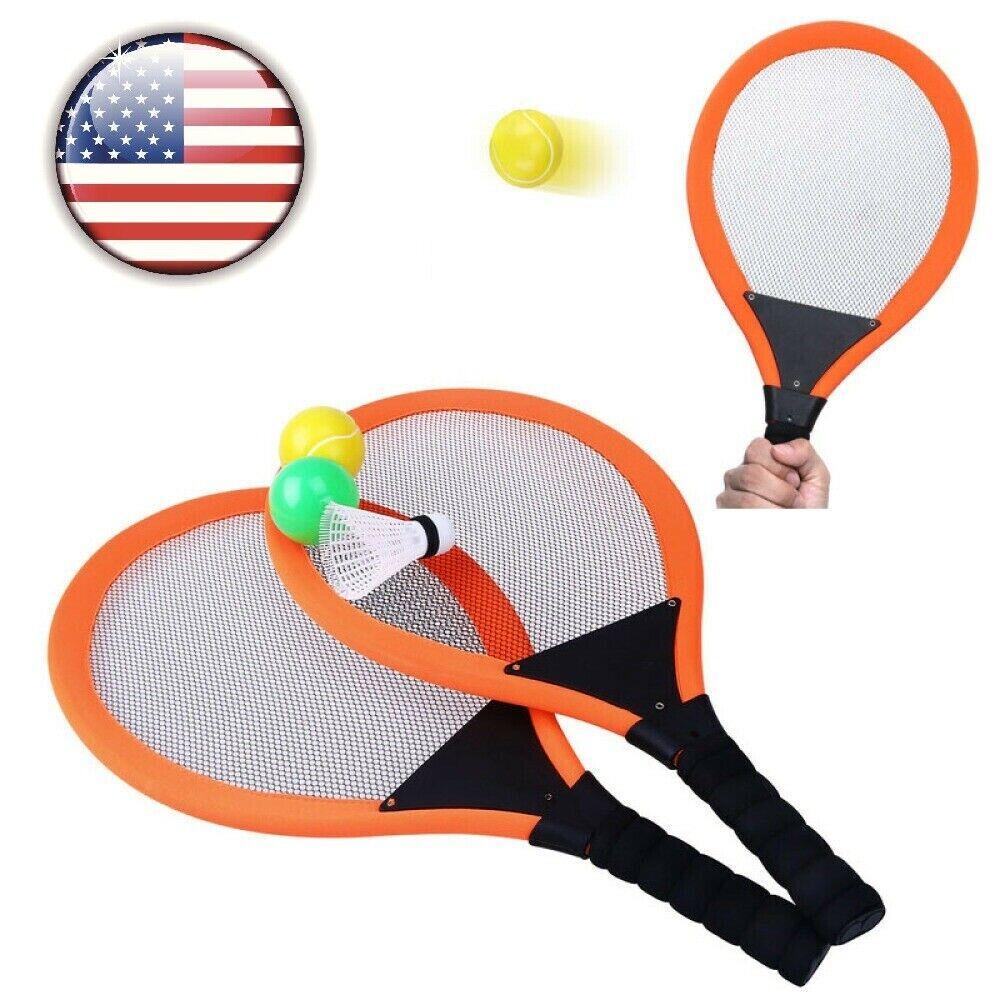Kids Badminton Racket Set Boys Girls Training Playing Outdoor Toy With Balls  USA 3241207261970 | eBay