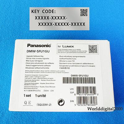 PANASONIC LUMIX V-Log Firmware Upgrade Software Key DMW-SFU1 For DMC-GH4  DC-GH5