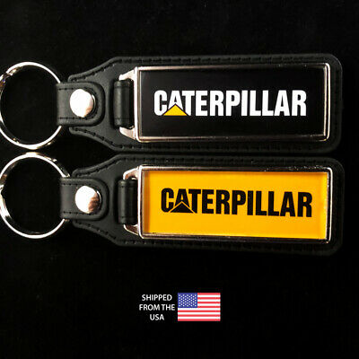 Caterpillar CAT Tractor Key Fobs Key Ring Keychain (2-Pack) - Caterpillar Key