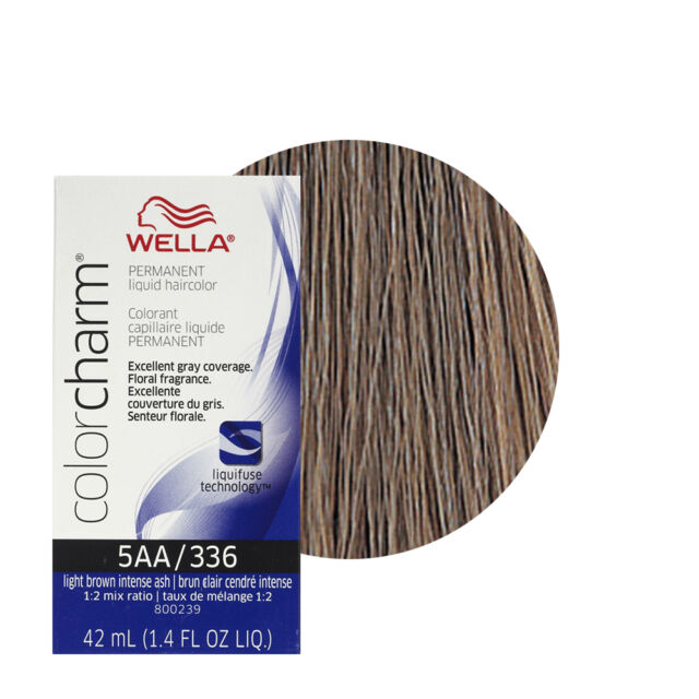 Wella Color Charm Liquid Haircolor 336 Light Brown Intense