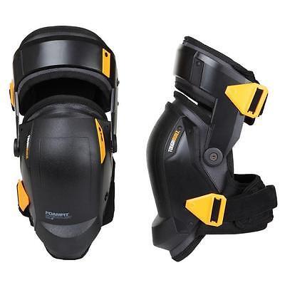 Black Work Knee Pads Thigh Support Leg Protectors Construction Elastic Comfort