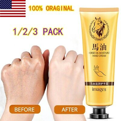 Foot Hand Cream Anti-Aging Horse Oil Dry Skin Care Peeling Whitening Repair NEW Anti Aging Hand Care