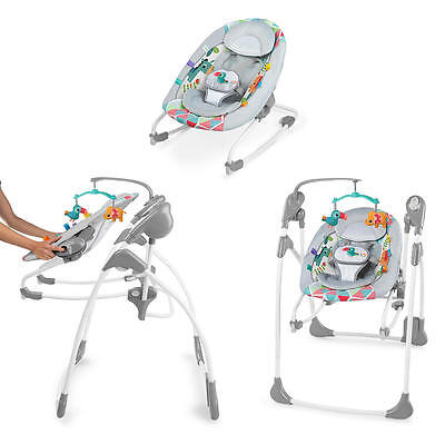 New Bright Starts 2-in-1 Rock and Swing - Toucan Tango Model:23071849