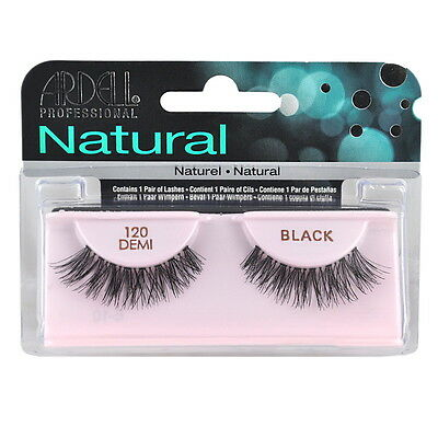 (Ardell Fashion Eye Lashes 120 Demi Black x 4 Pack)