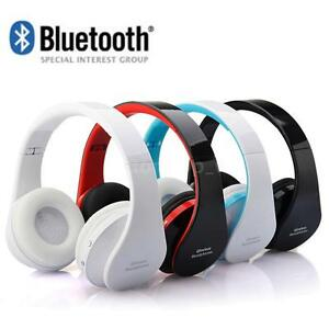 Foldable-Wireless-Bluetooth-Stereo-Headset-Handsfree-Headphones-Mic-For-iPhone