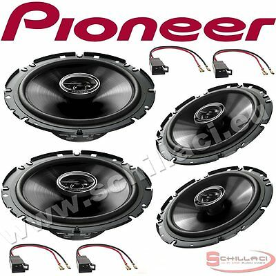 kit 4 Altavoces delanteros y traseros para PIONEER Volkswagen VW GOLF 3 91-97 co
