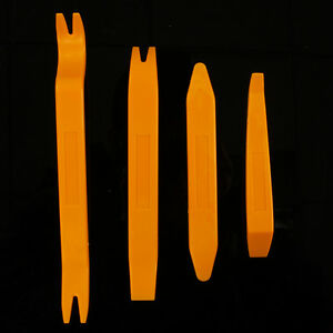 New 4 PCS Refit Removal Pry Tool Kit Car Vehicle Audio Stereo Installation Tools