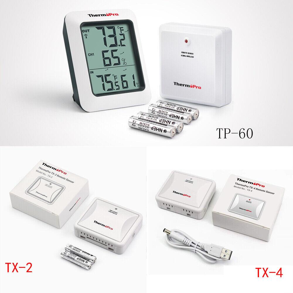 Digital Hygrometer Indoor Outdoor Humidity Thermometer Meter