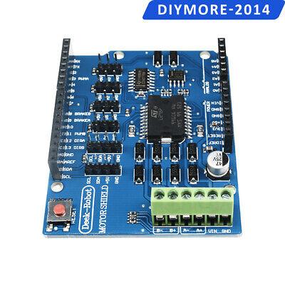 L298p Shield R3 Dc Motor Driver Module 2a H-bridge 2 Way Uno 2560 For Arduino