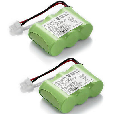 2 PACK 600mAh 3.6V Vtech BT-17333 BT-27333 Cordless Phone Batteries Replacement