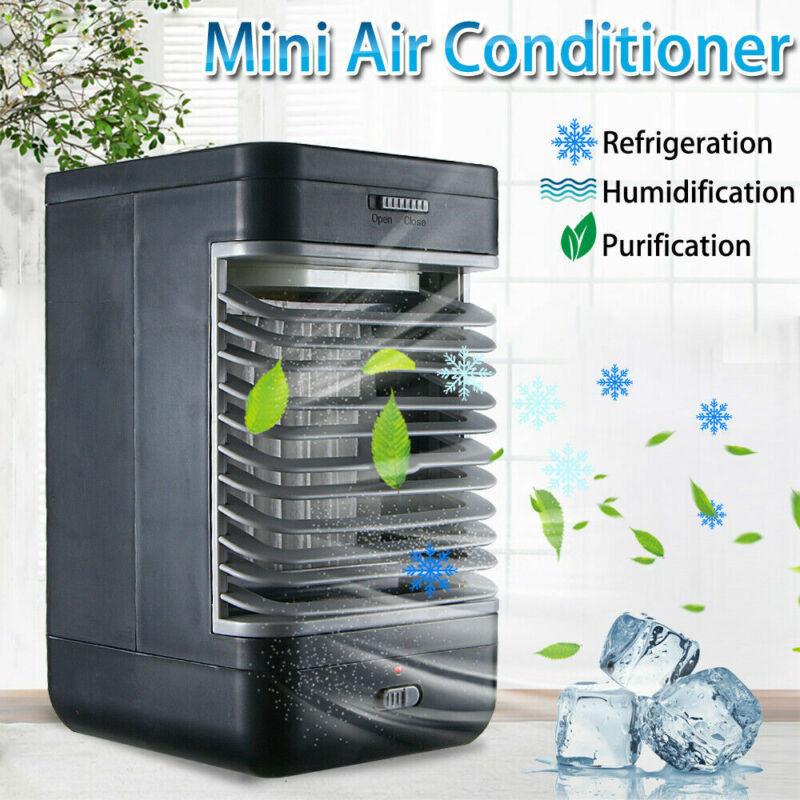 Portable Personal AC Unit Evaporative Air Conditioner Mini Purifier Cooler USA