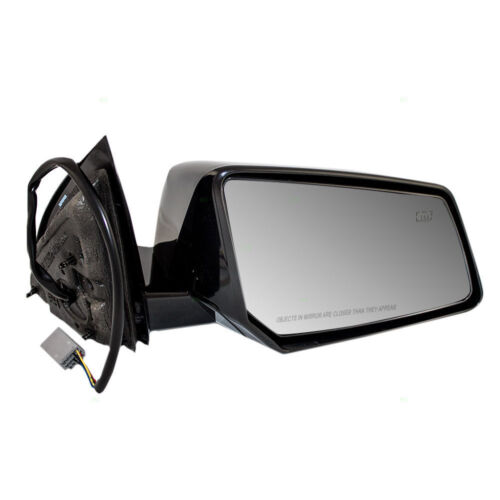 Power Side View Mirror Heated Glass Housing Chevy GMC Saturn SUV (H-29)