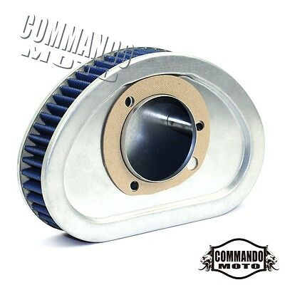 Motors Unique Air Filter Cleaner HD-9608 For 08-14 Harley-Davidson FXDC Custom