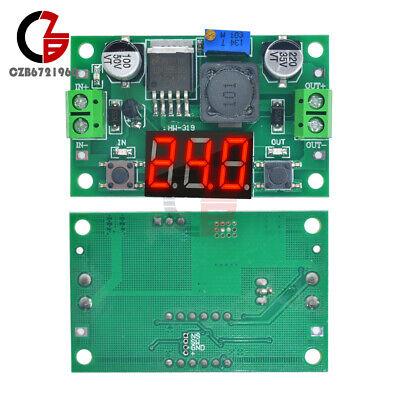 Dc--dc Buck Step Down Converter Module Lm2596 Voltage Regulator Led Voltmeter