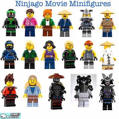 100% Lego Ninjago Movie 70620 Jay Lloyd Juno Garmadon Ham Kai Hammer Head Konrad (Lego Kai Ninjago)