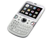 Blackberry look likes Alcatel OT-802 mobile phone only £11.