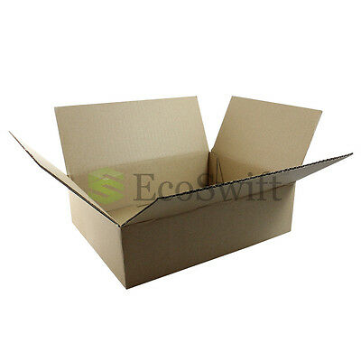 1-100 10x8x3 Ecoswift Cardboard Packing Mailing Shipping Corrugated Box Cartons